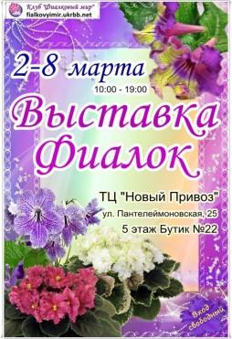 Выставка искусства: Встречаем весну в Одессе на Выставке Фиалок!