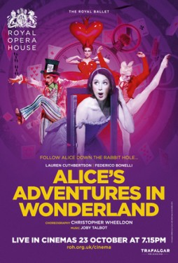 Royal Opera House London Live: Alice in wondeland