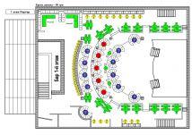 Схема этажей метрополис
